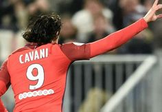 FOOTBALL NEWS: Bordeaux 0-3 Paris Saint-Germain: Cavani strikes t...