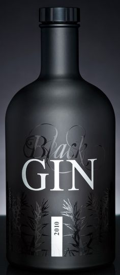 A new German Gin from the famous Gansloser distillery with intense juniper aroma and 73 other botanicals. www.blackgin.de