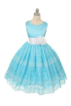http://childrensdressshop.com/home/515-adorable-layered-lace-flower-girl-dress-in-blue.html  turqoise flower girl dress
