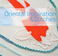 Issue 3, includes Saké Puppets sashiko tutorial and coaster pattern