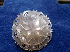 Vintage 1920s carved mother of pearl by RetroRoadVintageShop