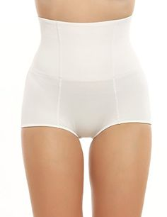 New SHAPEWEAR Smoothees Shaping Control Thong in Nude
