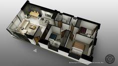 3d alaprajz készítés / 3d floor plan rendering