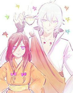 Naruto - Toneri and Hanabi