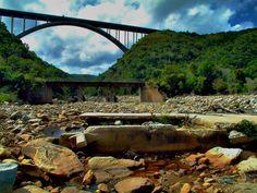 "The three ""Van Stadens"" bridges just outside Port Elizabeth, South Africa."