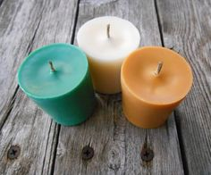 Christmas Scents-Soy Candles-Organic-Hemp Wick by SandyLandStudio