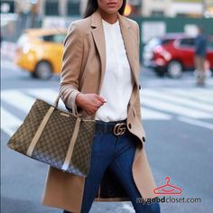bd89776e9a Effortless  style with an ultra chic camel  coat!  gucci  bags Find