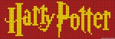 Alpha friendship bracelet pattern added by harry potter hogwarts houses ravenclaw gryffindor slytherin hufflepuff. Logo Harry Potter, Cross Stitch Harry Potter, Harry Potter Crochet, Cross Stitch Bookmarks, Beaded Cross Stitch, Cross Stitch Embroidery, Cross Stitch Designs, Cross Stitch Patterns, Harry Potter Perler Beads