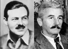 "Literary Feuds: Ernest Hemingway vs. William Faulkner    Faulkner said of Hemingway: ""He has never been known to use a word that might send a reader to the dictionary.""    Hemingway replied: ""Poor Faulkner. Does he really think big emotions come from big words?"""
