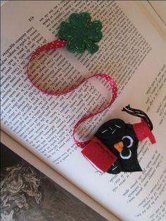 Bookmark, Graduation Owl bookmark, Partu Favors - Segnalibro con Gufo Laureato - Segnalibro in feltro - Regalo per Laurea - Fatto a mano. di TinyFeltHeart su Etsy