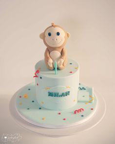 Kid Birthday Cake Monkey Birthday Cake, Cute, Desserts, Kids, Monkey, Food, Baby, Pies, Tailgate Desserts