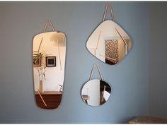 miroir triptyque asymétrique rétroviseur #déco #interior #design #french