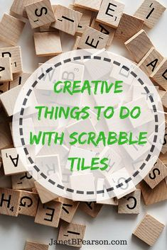Most of us have played the scrabble board game and probably have at least one set we are not using. The tiles can be used to make Scrabble tile crafts. Scrabble Letter Crafts, Scrabble Wall Art, Scrabble Coasters, Crafts With Scrabble Tiles, Scrabble Ornaments, Xmas Ornaments, Dollar Store Crafts, Diy Crafts To Sell, Fun Crafts