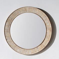 Rustic Style 35 inch Round Wall Mirror   Overstock.com Shopping - The Best Deals on Mirrors