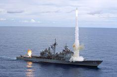 Ticonderoga-class guided-missile cruiser USS Cowpens (CG 63)
