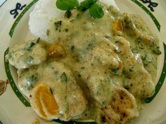 Codzienne gotowanie u Agi: pierś z kurczaka w sosie ziolowym