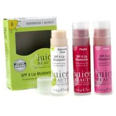 Juice beauty spf 8 lip moisturizers set ( 3x tinted lip moisturizer: #naturally clear, #joyful,
