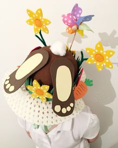 Homemade Easter bonnet made by me