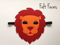 One Lion Mask, as shown in the photo. Each mask is made with premium felt, and has a black elastic band sewn to each side of the back. These adorable party masks are great for any Zoo Animal themed pa