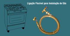 #consigaspecas - Flexível para Fogão, tem na www.consigaspecas.com.br