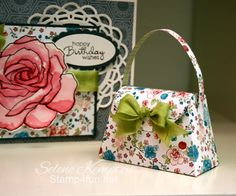 ADORABLE bitty purse by Selene Kempton!
