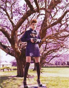 Purple Reign: ru_glamour — LiveJournal Fashion Shoot, Editorial Fashion, Marie Claire Australia, Bond, Purple Reign, Perfect World, Purple Haze, Models, Feminine Style