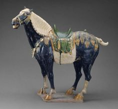 Horse Chinese, Tang dynasty, Early 8th century | Museum of Fine Arts, Boston