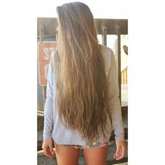 Long hair like this