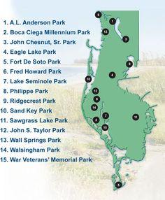 Pinellas Parks - Sawgrass is my favorite!