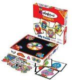 I want a  Colorforms Silly Faces Stick-Ons Game / http://www.zofb.com/colorforms-silly-faces-stick-ons-game/