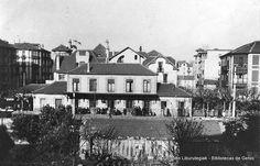 Antigua estación del ferrocarril de Las Arenas (Cedida por Karla Llanos) (ref. 07021)