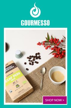 Gourmesso.com offers environmentally friendly Nespresso Machine compatible espresso at home. Espresso capsules are 100% compostable, offered in multiple flavors like White Chocolate, Pumpkin Spice, Ice Coffee, and many other Dark, Medium, and Light Roast blends.  | Flavored Espresso | Expresso pods | Espresso at Home | Compostable K Cups | Espresso Capsules | Fair Trade Coffee Pods | Compostable Coffee Pods | Espresso Recipes, Espresso Drinks, Espresso Maker, Espresso Cups, Coffee Recipes, Drink Recipes, Espresso How To Make, Espresso At Home, Espresso Machine Cleaner