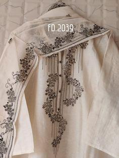 Eid Outfits Pakistani, Pakistani Dress Design, Embroidery Suits Design, Embroidery Dress, Embroidery Motifs, Beautiful Dress Designs, Stylish Dress Designs, Corset Sewing Pattern, Silk Kurti Designs