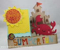 summer side-step card