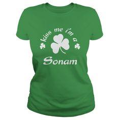 kiss me I am Sonam Shirts kiss me I am Sonam my name is Sonam Tshirts Sonam TShirts Sonam tee Shirt Hoodie Sweat Vneck for Sonam https://www.sunfrog.com/Names/130096065-847471869.html?46568