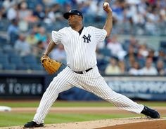 Sabathia on DL because of knee; Montgomery back  -  August 11, 2017:     FILE - In this Aug. 1, 2017, file photo, New York Yankees starting pitcher CC Sabathia winds up during the first inning of the team's baseball game against the Detroit Tigers, at Yankee Stadium in New York. Sabatthia was put on the 10-day disabled list because of right knee inflammation and left-hander Jordan Montgomery was recalled from Triple-A Scranton/Wilkes-Barre. (AP Photo/Kathy Willens. File)
