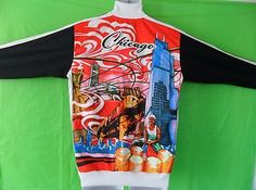 EXTRA RARE~Adidas CHICAGO CHITOWN Track sweat shirt Top Jacket superstar~Men 2XL