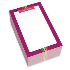 Magenta Border Chunky Notepads