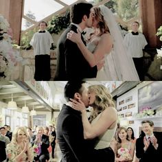 Revenge; Casamento Daniel Grayson e Emily Thorne; Casamento Amanda Clarke e Jack Porter.