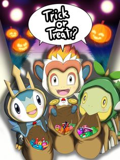 Trick Or Treat? ( Sinnoh ) by Winick-Lim.deviantart.com on @DeviantArt