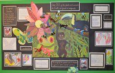 Loose Primary School - Art at Loose Classroom Displays Ks1, Primary School Displays, Primary School Art, Art School, Display Boards, Display Ideas, Classroom Bulletin Boards, Year 6, Classroom Environment