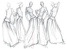 fashion illustrations pencil sketches - Tìm với Google
