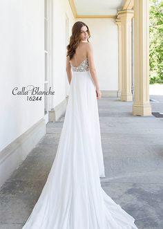 Calla Blanche Bridal Gowns available at Nikki's!