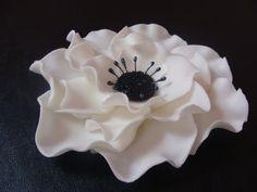 Edible 5'' Sugar Anemone Wedding  Engagement by AysesEdibleArts, $30.00