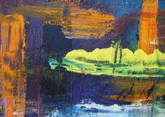 "TITLE ""SMEAR II"" 2014 ACRYLIC ON CANVAS Tina Morris"