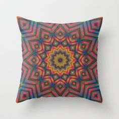 Harmony No. 5 Throw Pillow by Lyle Hatch - $20.00