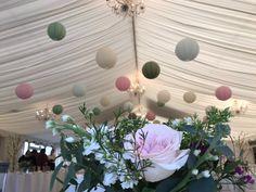 Wedding Marquee Decor: Paper Lanterns Marquee Wedding, Paper Lanterns, Big Day, Flowers, Plants, Fun, Decor, Decoration, Plant