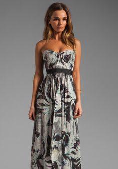 BCBGMAXAZRIA Strapless Maxi Dress... gorgeous.