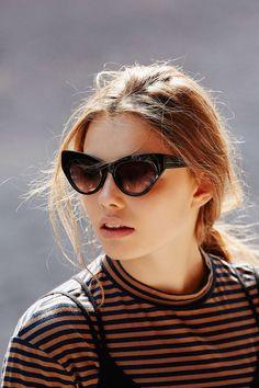 Kurt Cat-Eye Sunglasses - Urban Outfitters