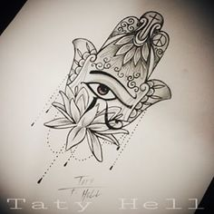 tatuagem hamsa na costela - Pesquisa Google